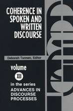 Coherence in Spoken and Written Discourse