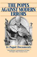 Popes Against Modern Errors