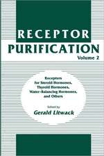 Receptor Purification: Receptors for Steroid Hormones, Thyroid Hormones, Water-Balancing Hormones, and Others