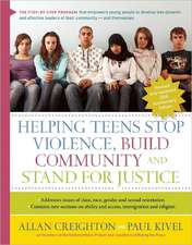 Helping Teens Stop Violence, Build Community, and Stand for Justice