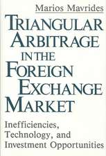 Triangular Arbitrage in the Foreign Exchange Market:  Inefficiencies, Technology, and Investment Opportunities
