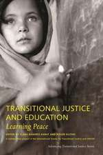 Transitional Justice and Education – Learning Peace
