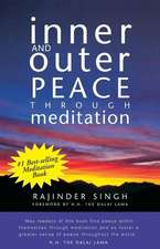 Inner and Outer Peace Through Meditation:  Dedicated to Those Who Are Not Ashamed of Economy