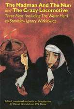 The Madman and the Nun and the Crazy Locomotive:  Three Plays (Including the Water Hen)