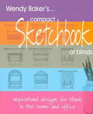 Compact Sketchbook of Blinds:  Enjoy Making Your Own Curtains