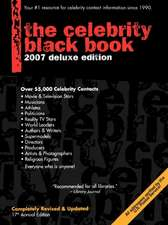 The Celebrity Black Book:  Over 55,000 Accurate Celebrity Addresses