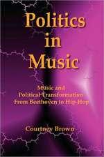 Politics in Music