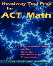Headway Test Prep for ACT Math:  Dark of Night