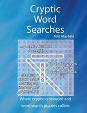 Cryptic Word Searches