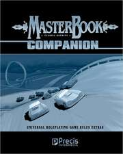 Masterbook Companion (Classic Reprint):  Universal Role Playing Game System