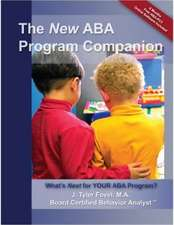 The New ABA Program Companion:  What's Next for Your ABA Program?