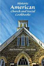 Historic American Church and Social Cookbooks