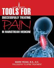 Tools for Successfully Treating Pain in Mainstream Medicine:  Philosophy to Spine Treatment