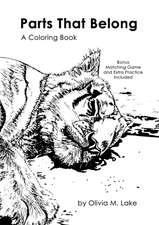 Parts That Belong a Coloring Book