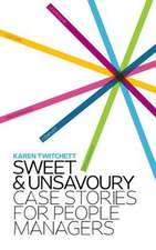 Sweet and Unsavoury