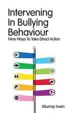 Intervening in Bullying Behaviour