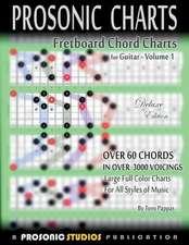 Fretboard Chord Charts for Guitar - Volume 1