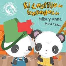El Castillo de Frazadas de Mika y Anna (Hermanos Panda)