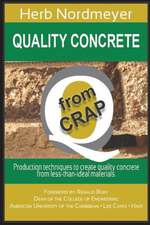 Quality Concrete from Crap: Production Techniques to Produce Quality Concrete from Less-Than-Ideal Materials.
