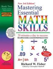 Mastering Essential Math Skills, Book 1: Middle Grades/High School, 3rd Edition: 20 Minutes a Day to Success