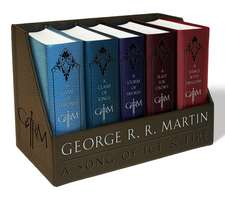George R. R. Martin's a Game of Thrones Leather-Cloth Boxed Set: Song of Ice and Fire Series