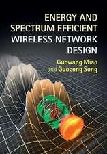 Energy and Spectrum Efficient Wireless Network Design