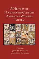 A History of Nineteenth-Century American Women's Poetry