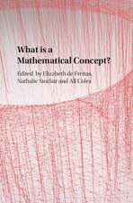 What is a Mathematical Concept?