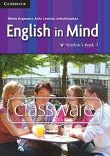 English in Mind Level 3 Classware CD-ROM Polish Exam Edition