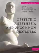 Obstetric Anesthesia and Uncommon Disorders