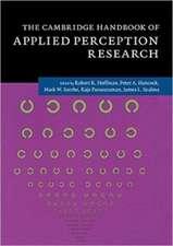The Cambridge Handbook of Applied Perception Research 2 Volume Paperback Set