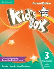Kid's Box American English Level 3 Workbook with Online Resources