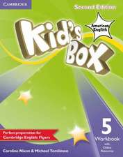 Kid's Box American English Level 5 Workbook with Online Resources