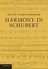 Harmony in Schubert