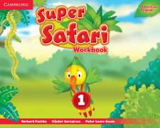 Super Safari American English Level 1 Workbook