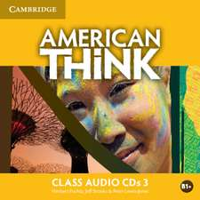 American Think Level 3 Class Audio CDs (3)