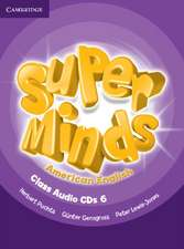 Super Minds American English Level 6 Class Audio CDs (4)
