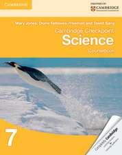Cambridge Checkpoint Science Coursebook 7