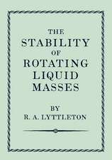 The Stability of Rotating Liquid Masses