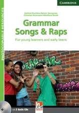 Grammar Songs and Raps Teacher's Book with Audio CDs (2): For Young Learners and Early Teens