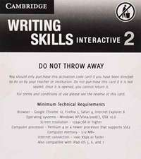 Grammar and Beyond Level 2 Writing Skills Interactive (Standalone for Students) via Activation Code Card