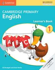 Cambridge Primary English Learner's Book Stage 1