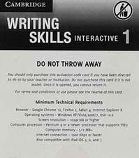 Grammar and Beyond Level 1 Writing Skills Interactive (Standalone for Students) via Activation Code Card