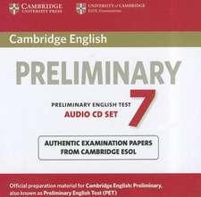Cambridge English Preliminary 7 Audio CDs (2)
