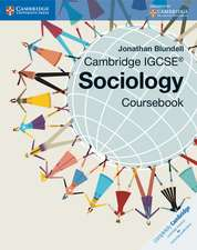 Cambridge IGCSE® Sociology Coursebook