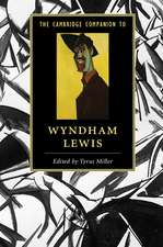 The Cambridge Companion to Wyndham Lewis