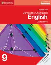 Cambridge Checkpoint English Coursebook 9