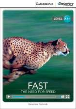 Fast: The Need for Speed High Beginning Book with Online Access
