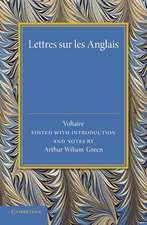 Lettres sur les Anglais