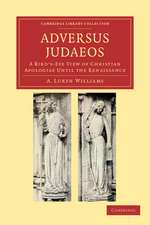 Adversus Judaeos: A Bird's-Eye View of Christian Apologiae until the Renaissance